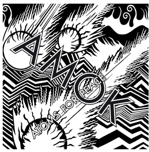 "Atoms For Peace  ‎– Amok.    (2 × Vinyl, 12"", 45 RPM, Album)"