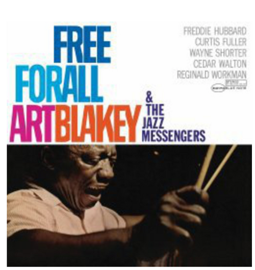 Art Blakey & The Jazz Messengers ‎– Free For All     (Vinyl, LP, Album, Reissue, Remastered, Stereo )