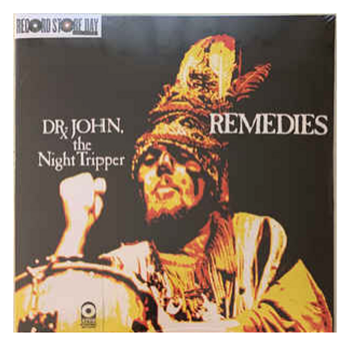 RSD 2020. Dr. John, The Night Tripper ‎– Remedies.    (Vinyl, LP, Limited Edition, Reissue, Stereo, Mardi Gras splatter vinyl). AVAILABLE IN STORE ONLY 26-9-20