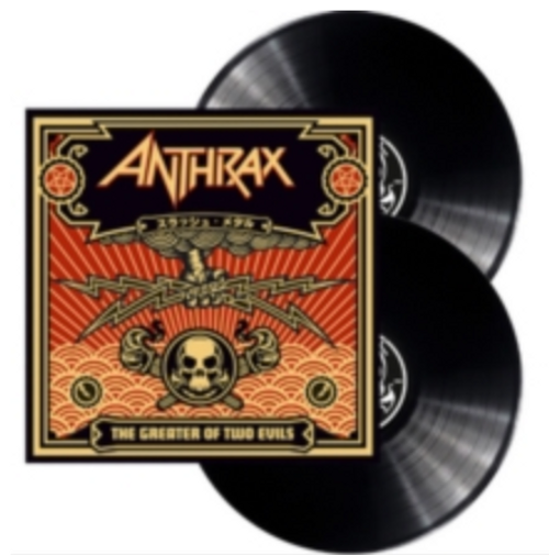 Anthrax - The Greater of Two Evils (2 × Vinyl, LP, Album)