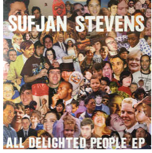 "Sufjan Stevens - All Delighted People (2 × Vinyl, 12"", EP)"