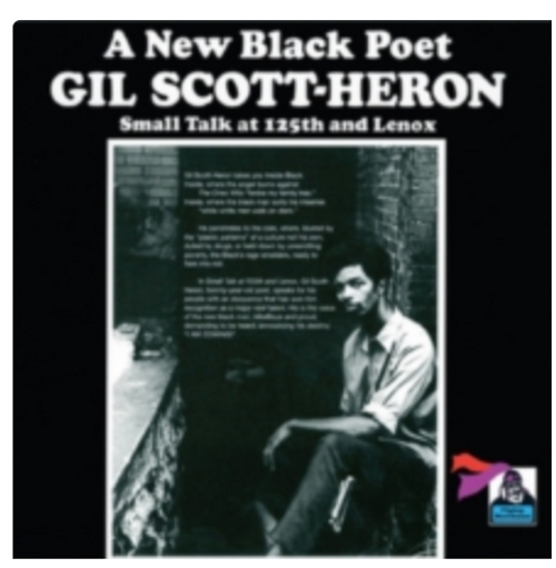 Gil Scott-Heron – Small Talk At 125th And Lenox.      (Vinyl, LP, Album, Reissue, Remastered, 180 Gram, Gatefold)