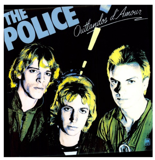 The Police ‎– Outlandos D'Amour.   (Vinyl, LP, Album, Reissue, 180 Gram)