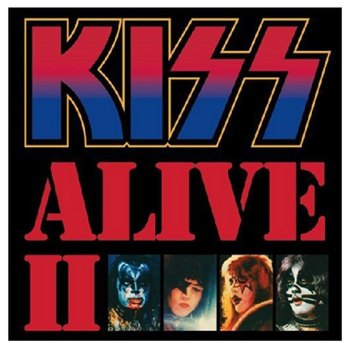 Kiss ‎– Alive II.   (2 × Vinyl, LP, Album, Reissue, Remastered, Gatefold)