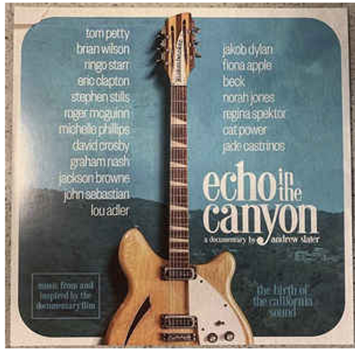 Various ‎– Echo In The Canyon Soundtrack ( Vinyl, LP, Album, Stereo)