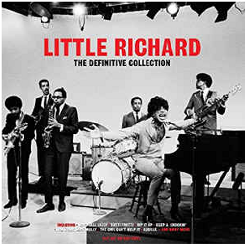 Little Richard ‎– The Definitive Collection.   ( 3 × Vinyl, LP, Compilation, Red)