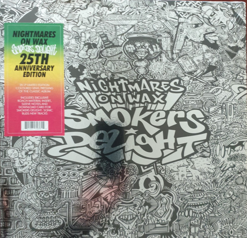 Nightmares On Wax – Smokers Delight.  ( Vinyl, LP, Translucent Green Vinyl, LP, Translucent Red All Media, Album, Limited Edition, Reissue, 25th Anniversary Edition)