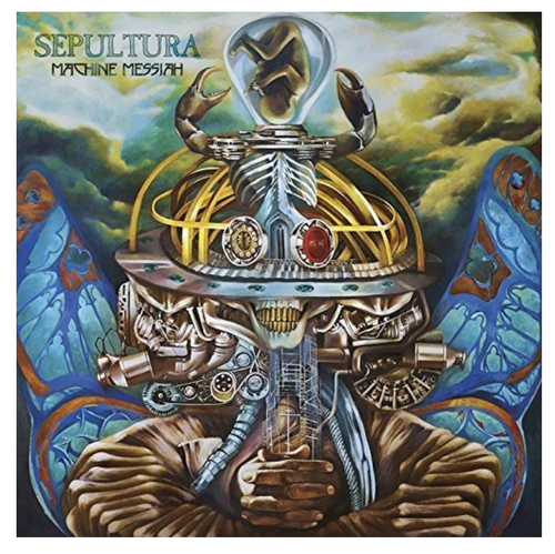 Sepultura – Machine Messiah.   (2 × Vinyl, LP, Album)