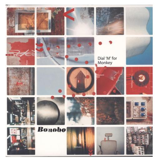 Bonobo – Dial 'M' For Monkey.    (2 × Vinyl, LP, Album)