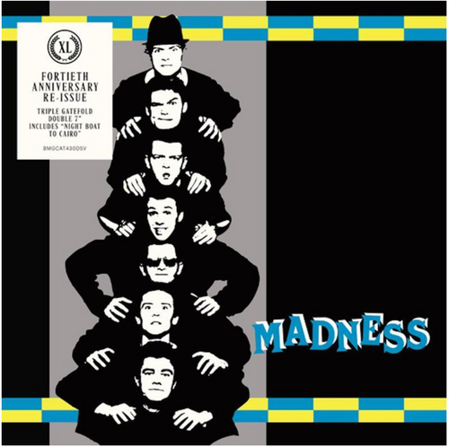"""RSD 2020. Madness – Work Rest & Play.   (2 × Vinyl, 7"""", Reissue, Special Edition). AVAILABLE IN STORE ONLY 26-9-20"""