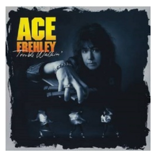 RSD 2020. Ace Frehley ‎– Trouble Walkin'.   (2 × Vinyl, LP, 45 RPM, Album, Reissue, Yellow/Orange). AVAILABLE IN STORE ONLY 26-9-20