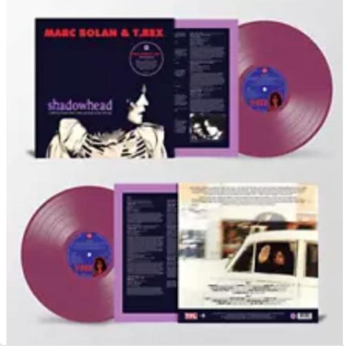 RSD 2020. Marc Bolan & T. Rex – Shadowhead.   (Vinyl, LP, Album, Reissue, 180g. Purple).  AVAILABLE IN STORE ONLY 26-9-20