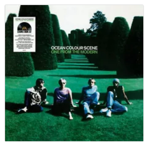 RSD 2020. Ocean Colour Scene ‎– One From The Modern  ( 2 × Vinyl, LP, Album, Limited Edition, Remastered, Green). AVAILABLE IN STORE ONLY 26-9-20