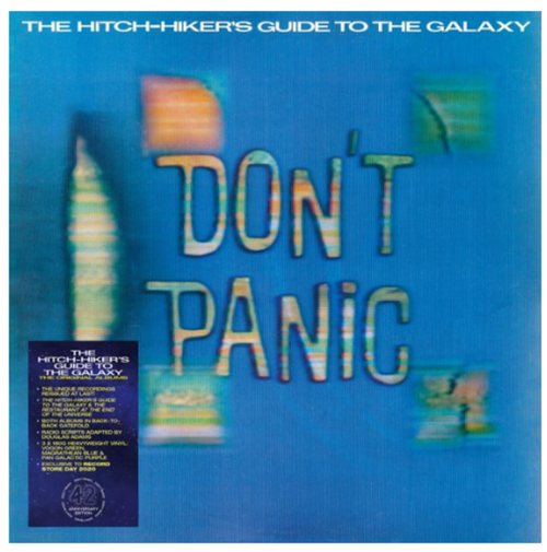 RSD2020. Douglas Adams ‎– The Hitch-Hiker's Guide To The Galaxy: The Original Albums.  (3 x Vinyl, LP, Album, Colured). AVAILABLE IN STORE ONLY 26-9-20