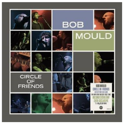 RSD2020. Bob Mould – Circle Of Friends.   (2 × Vinyl, LP, Limited Edition, Stereo, Clear). AVAILABLE IN STORE ONLY 26-9-20