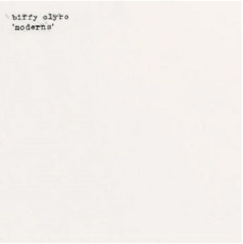"RSD2020 Biffy Clyro ‎– Moderns.  (Vinyl, 7"", Single, Limited Edition, White [Opaque])."