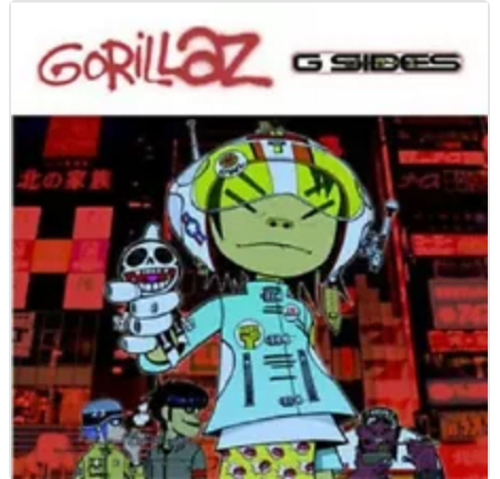 RSD 2020 Gorillaz ‎– G Sides. ( Vinyl, LP, Compilation, Limited Edition, Reissue, Remastered) AVAILABLE IN STORE ONLY 26-9-20