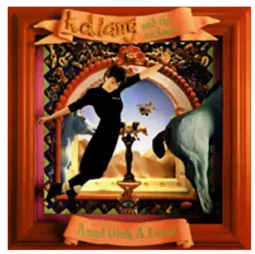 RSD2020. k.d. lang and the reclines ‎– Angel With A Lariat.   (Vinyl, LP, Album, Limited Edition, Translucent Red)
