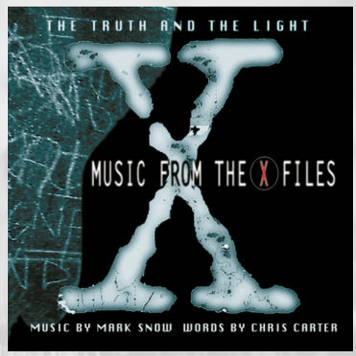 RSD 2020. Mark Snow – The Truth And The Light: Music From The X-Files.   (Vinyl, LP, Album, Limited Edition, Glow-In-The-Dark). PRE ORDER IN STORE ONLY 26-9-20 AVAILABLE 2-10-20