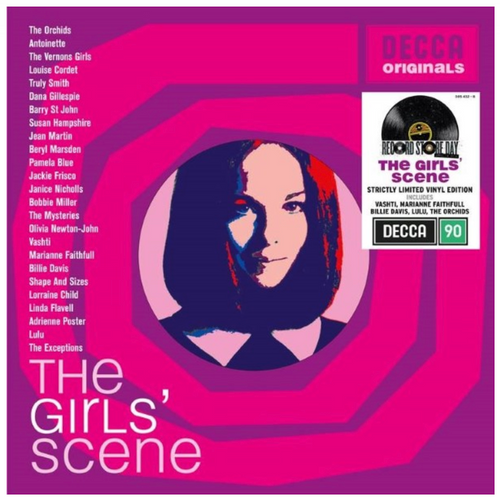 RSD 2020.  Various - The Girls Scene.  ((2 × Vinyl, LP, Limited Edition).  AVAILABLE IN STORE ONLY 26-9-20