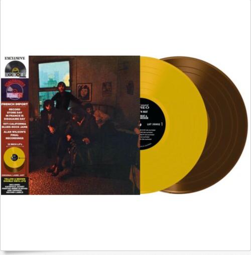 RSD 2020  Canned Heat & John Lee Hooker – Hooker 'N Heat   (Album, Limited Edition, Reissue, Gatefold Vinyl, LP, Yellow Translucent Vinyl, LP, Brown)