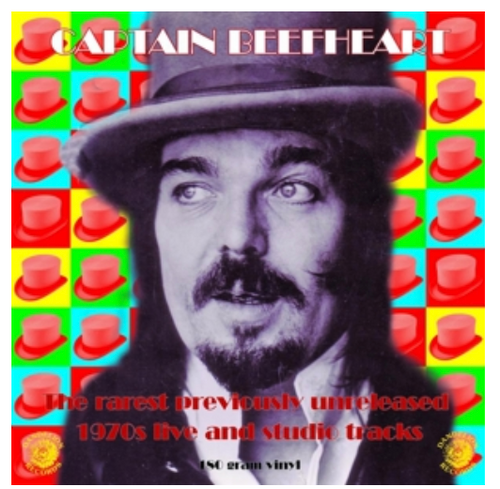 Captain Beefheart ‎– The Rarest Previously Unreleased 1970s Live And Studio Tracks.   Vinyl, LP, Compilation, Limited Edition, Numbered, Green, 180 Gram)