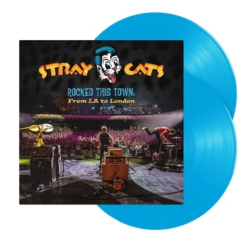 STRAY CATS Rocked This Town: From La To London.   (2-LP, Coloured Vinyl, High Quality, Gatefold Sleeve, Limited Edition)