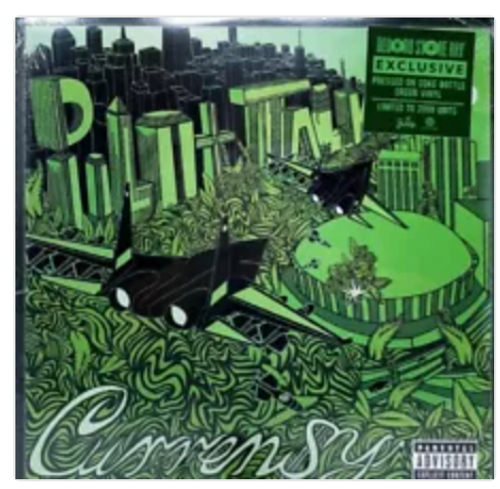 Curren$y – Pilot Talk.   (Vinyl, LP, Limited Edition, Coke Bottle Green).AVAILABLE IN STORE ONLY 24-10-20