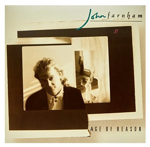 John Farnham – Age Of Reason.   (Vinyl, LP, Album, Repress, Stereo)
