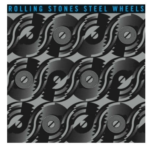 Rolling Stones ‎– Steel Wheels.   (Vinyl, LP, Album, Reissue, Remastered, Stereo, Half-Speed Master. 180 Gram Vinyl.)