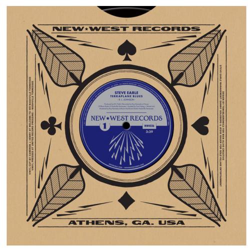 "Steve Earle / Robert Johnson – Terraplane Blues    (Vinyl, 10"", 45 RPM, Single, Limited Edition)"
