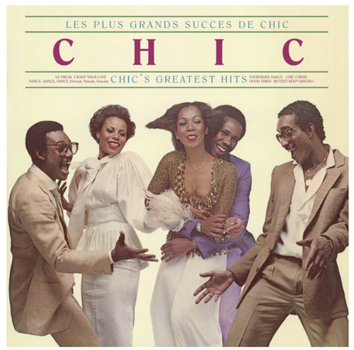 Chic ‎– Les Plus Grands Succes De Chic = Chic's Greatest Hits    (Vinyl, LP, Compilation, Reissue)