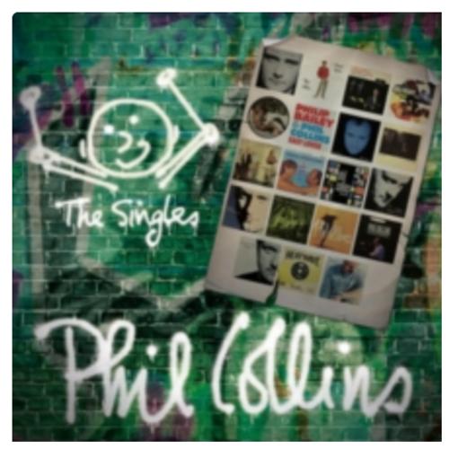 Phil Collins – The Singles    (2 × Vinyl, LP, Compilation, Reissue)
