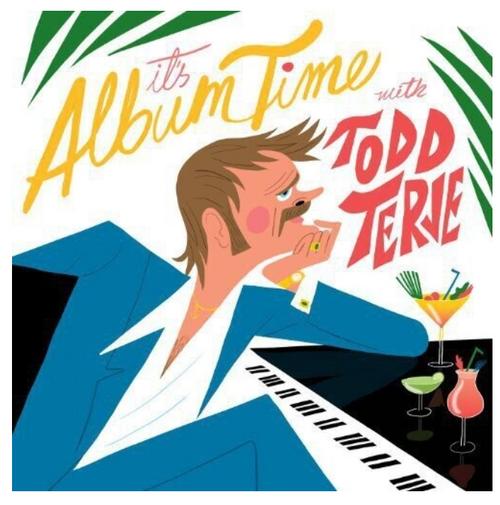 """Todd Terje – It's Album Time    (2 × Vinyl, 12"""", 45 RPM, Album)"""