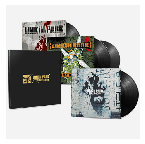 Linkin Park ‎– Hybrid Theory.   ( Box Set, Compilation, Deluxe Edition Vinyl, LP, Album, Gatefold Sleeve 2 × Vinyl, LP, Album, Gatefold Sleeve Vinyl, LP, Compilation)