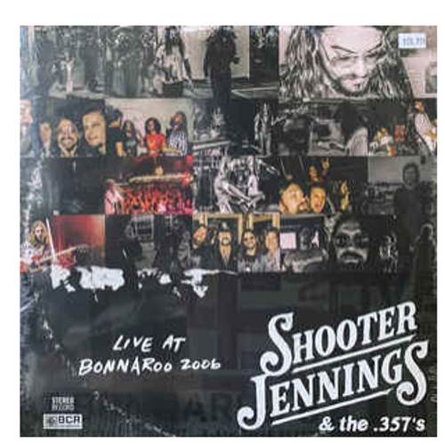 RSD 2020 Shooter Jennings & The .357's – Live At Bonnaroo 2006.   (2 x Vinyl, LP, Blue Red, Translucent)  AVAILABLE IN STORE ONLY 24-10-20