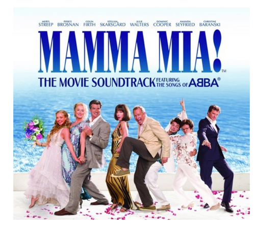 Mamma Mia! - The Movie Soundtrack.   (2 × Vinyl, LP, Album)