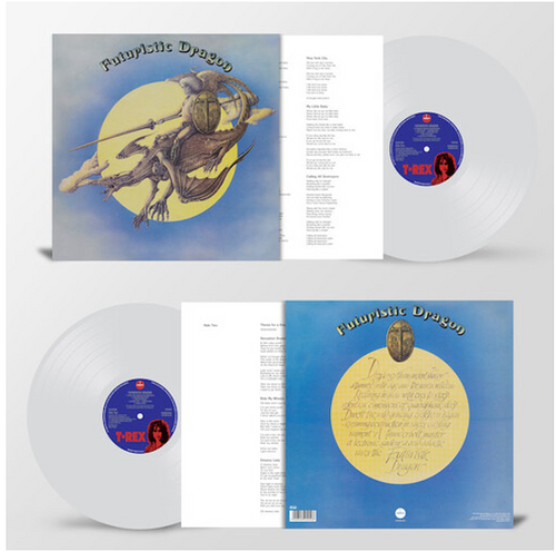 T. Rex ‎– Futuristic Dragon.    (Vinyl, LP, Album, Reissue, Stereo, Clear)