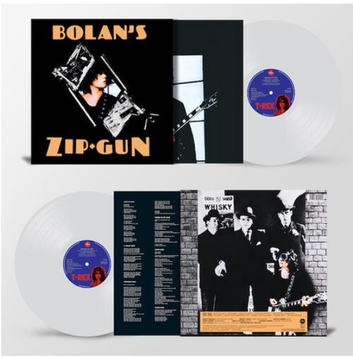 T. Rex – Bolan's Zip Gun.   (Vinyl, LP, Album, Reissue, Stereo, Clear vinyl)