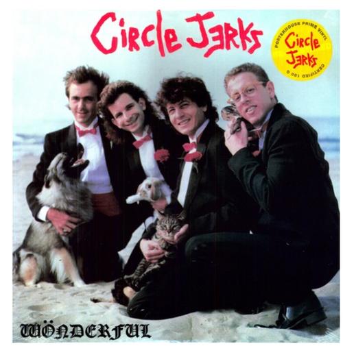 Circle Jerks – Wonderful.    (Vinyl, LP, Album, Reissue)