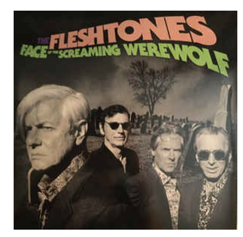 RSD 2020. The Fleshtones ‎– Face Of The Screaming Werewolf.   (Vinyl, LP, Album, Limited Edition, Stereo, Purple Splatter (with Wolfman Mask)   AVAILABLE IN STORE ONLY 24-10-20
