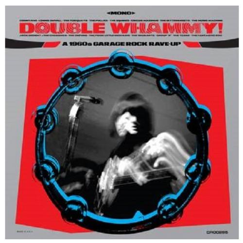 RSD 2020  RSD2020 Various - Double Whammy! A 1960s Garage Rock Rave-Up     (Vinyl, LP, Album,Translucent Blue )