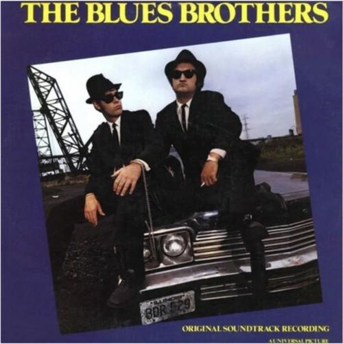 The Blues Brothers (Original Soundtrack Recording) (Vinyl, LP, Album, Reissue, Blue Pressing)