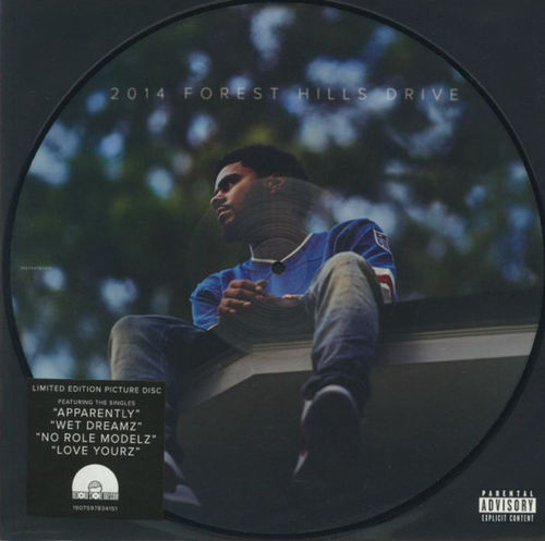 """J. Cole - 2014 Forest Hills Drive (Vinyl, 12"""", Limited Edition, Picture Disc)"""