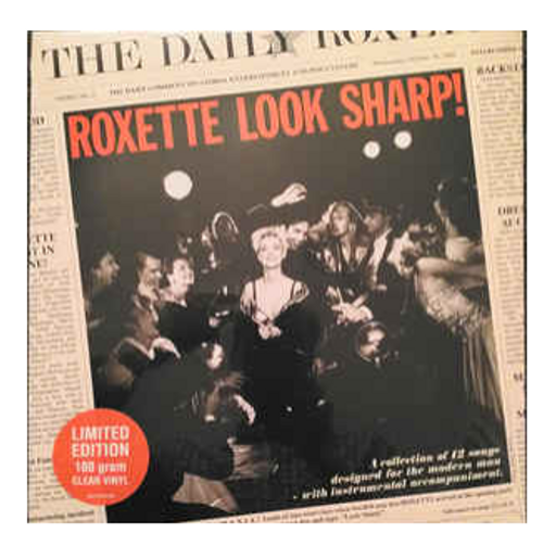 Roxette ‎– Look Sharp!.   (Vinyl, LP, Album, Limited Edition, Reissue, Stereo, Clear)