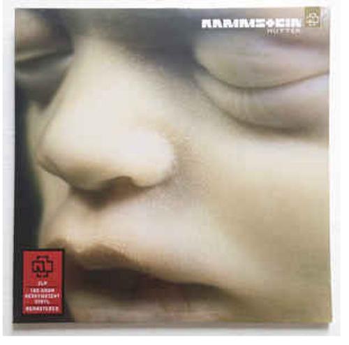 Rammstein – Mutter.   ( 2 × Vinyl, LP, Album, Reissue, Remastered, Stereo, 180g)