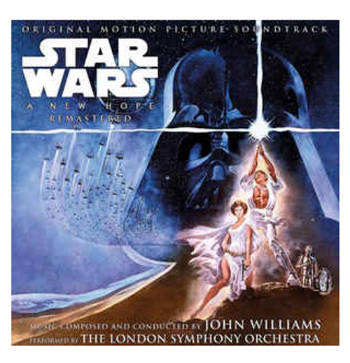 John Williams, The London Symphony Orchestra – Star Wars: A New Hope (Original Motion Picture Soundtrack).   (2 × Vinyl, LP, Remastered)