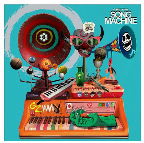 Gorillaz – Song Machine Season One.   (Vinyl, LP, Album, Limited Edition, Orange Neon)