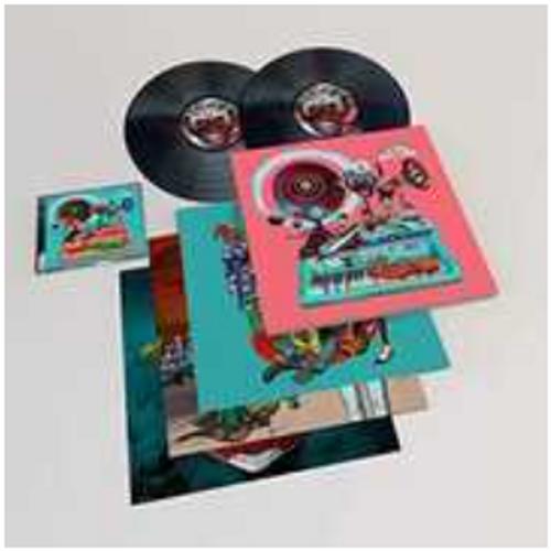 Gorillaz – Song Machine Season One.   ( 2 × Vinyl, LP, Album, CD, Deluxe, Limited Edition)