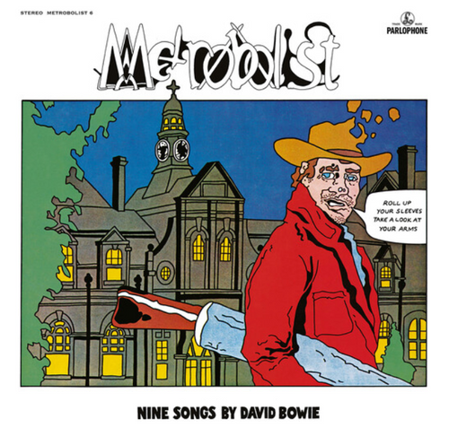 David Bowie ‎– Metrobolist (Nine Songs By David Bowie).   ( Vinyl, LP, Album)